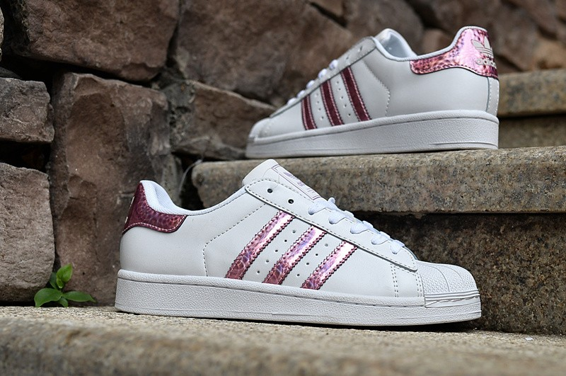 Rose Adidas Pas Cher Femme Superstar YWb2IEHeD9